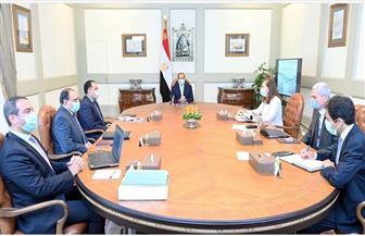«الرئاسة» تنشر فيديو اجتماع الرئيس السيسي لاستعراض تطورات إنشاء منظومة المخازن الإستراتيجية للتخزين الطبي