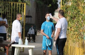 إجراءات احترازية مشددة قبل انطلاق مران الإسماعيلي | صور
