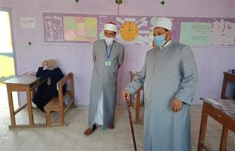 رئيس منطقة البحر الأحمر الأزهرية: امتحان مادة الأحياء في مستوى الطالب المتوسط | صور