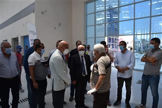 محافظ بورسعيد: مجمع الأسواق الجديد نقلة حضارية لمنظومة الخدمات المقدمة للمواطنين | صور