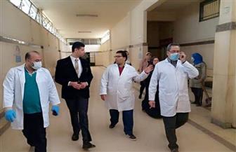 نائب محافظ القليوبية يتفقد مستشفى شبين القناطر المركزي