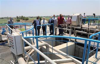 1.5 مليار جنيه ميزانية مياه الشرب والصرف الصحي للعام الحالي بالمنوفية | صور