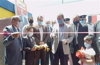 افتتاح السوق النموذجية بحي السلام والملعب المفتوح بمنشية الشهداء بالإسماعيلية | صور
