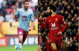 """انطلاق """"المواجهة المصرية"""" بين ليفربول وأستون فيلا في الدوري الإنجليزي"""