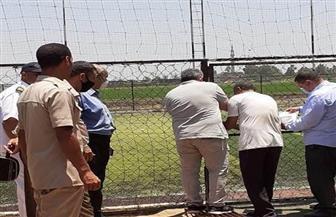 قرار بإزالة ملعب كرة قدم مخالف على أرض زراعية بالشرقية| صور