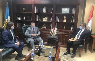 وزير السياحة يبحث مع سفيري أوكرانيا وبيلاروسيا في القاهرة سبل التعاون