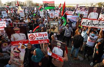 مظاهرات حاشدة في ليبيا بعد تدمير الدفاعات الجوية التركية بقاعدة الوطية| فيديو