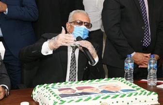 بهاء أبو شقة يفتتح مقر الوفد الجديد في مدينة 6 أكتوبر