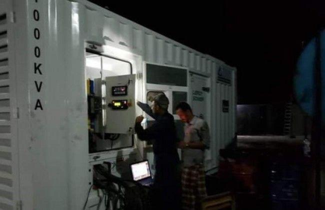 انتهاء أزمات الكهرباء بالمهرة اليمنية بعد إنشاء 11 محطة توليد بمنحة سعودية
