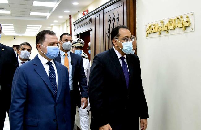 رئيس الوزراء يتفقد المقر الجديد لمرور الجيزة بمدينة 6 أكتوبر