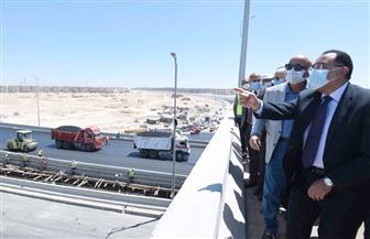 رئيس الوزراء يتفقد المحاور والطرق الجديدة بمدينة 6 أكتوبر
