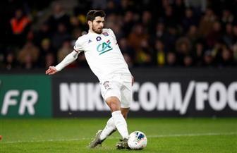 رين الفرنسي يضم «تيرييه» مهاجم ليون مقابل 15 مليون يورو