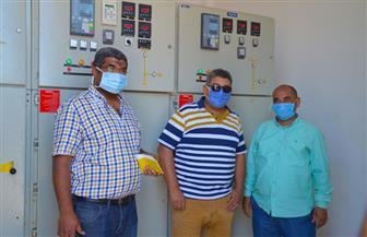 رئيس جهاز مدينة سوهاج الجديدة يشهد إطلاق التيار الكهربائي بالمستشفى الجامعي بالمدينة بسعة 200 سرير |صور
