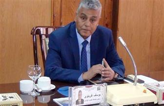 الدكتور علاء صادق مشرفا على كلية حاسبات ومعلومات قنا   صور