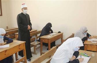 طلاب القسم العلمي بالثانوية الأزهرية يؤدون امتحانات مادة الفقه .. اليوم