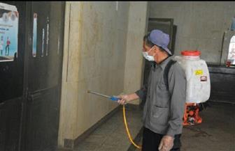 تعقيم وتطهير المدن الجامعية بجامعة الفيوم لتسكين طلاب السنوات النهائية | صور
