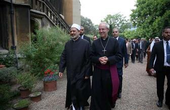 شيخ الأزهر ورئيس أساقفة كنيسة كانتربري: «كورونا» أظهر حاجة الإنسانية للعمل المشترك | صور