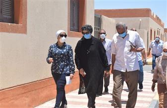 نائبة محافظ البحر الأحمر تتفقد عددا من المشروعات بمدينة سفاجا| صور
