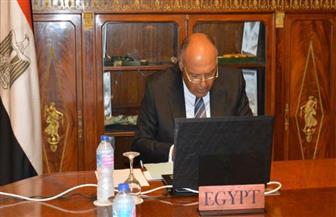 سامح شكرى يشارك فى اجتماع وزراء خارجية  ترويكا الاتحاد الإفريقي وروسيا