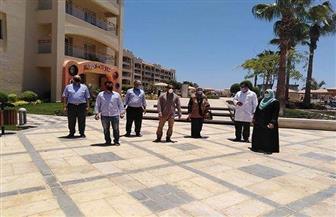 لجنة بيئية لمراجعة الإجراءات الاحترازية والوقائية بالفنادق السياحية بالغردقة | صور