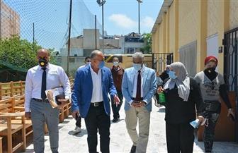 رئيس جامعة بورسعيد يتفقد امتحانات كليات التربية والعلوم والتربية للطفولة المبكرة | صور