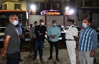 محافظ الفيوم: غلق 27 مطعما ومقهى لعدم الالتزام بالإجراءات الاحترازية | صور