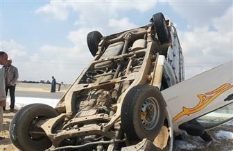 مصرع وإصابة 3 مواطنين في انقلاب سيارة بأسوان