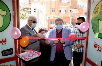نائب محافظ بني سويف يفتتح معرض توفير ملابس العيد للأسر الأولى بالرعاية مجانا | صور