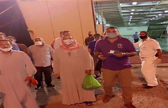 وزير النقل يتابع وصول 279 راكبا مصريا من الأردن إلى ميناء نويبع | صور