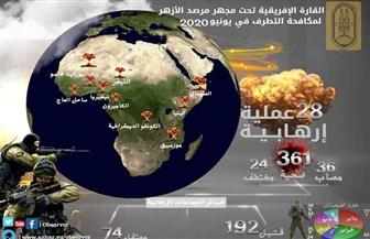 إفريقيا تحت مجهر مرصد الأزهر.. 28 عملية إرهابية و361 ضحية خلال شهر يونيو