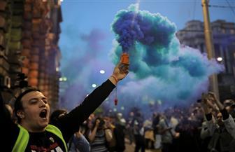 """وزير الداخلية الصربي يصف الاحتجاجات العنيفة في بلاده بأنها """"محاولة انقلاب"""""""