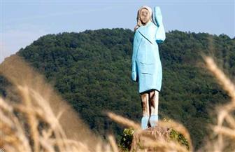 موجة حرق التماثيل في أمريكا تطال زوجة ترامب
