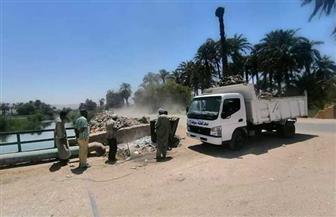 رفع 860 طن مخلفات وقمامة من قرى ومدينة أخميم   صور