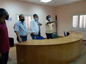 أحمد عواض يتفقد قصر ثقافة الفيوم لمتابعة الاستعدادات لعودة الأنشطة |صور
