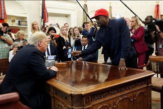 كانيي ويست يتخلى عن صداقته مع ترامب بإعلان ترشحه للرئاسة.. ويثق في أصوات الأفارقة الأمريكيين
