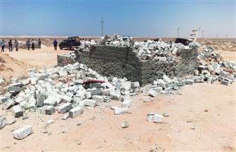 استرداد 109 آلاف فدان و1.6 مليون متر مربع ضمن أعمال الموجة السادسة عشرة لإزالة التعديات على أراضى الدولة