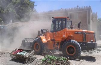 إزالة 24 حالة تعد على أملاك الدولة والأراضي الزراعية بسوهاج