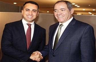 وزيرا خارجية الجزائر وإيطاليا يؤكدان  ضرورة حظر توريد السلاح إلى ليبيا