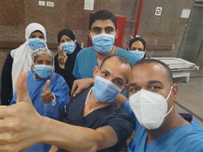 خروج ٥ حالات من مستشفى الأقصر العام ليصل إجمالي المتعافين ٤٠٥ حالات