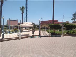 في ثاني أيام العيد حدائق ومتنزهات كفر الشيخ خالية من المواطنين واستمرار ذبح الأضاحي| صور