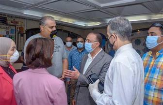 محافظ الإسكندرية يزور قرية الموحدين لرعاية الأيتام وذوي الهمم | صور