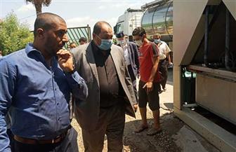 نائب وزير الزراعة يتفقد مراكز تجميع الألبان في قطور بالغربية استعدادا لتطويرها | صور