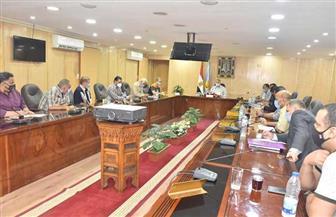 محافظ أسيوط يناقش الاستعدادات النهائية لانتخابات مجلس الشيوخ | صور