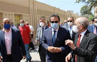 وزير التعليم العالي يتفقد مقر مكتب التنسيق الرئيسي الجديد بجامعة عين شمس | صور