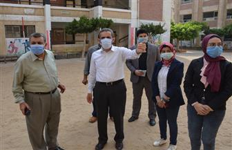 محافظ الغربية يتفقد جاهزية لجان الانتخابات بطنطا.. ويقيل رئيس الوحدة المحلية لقرية محلة مرحوم   صور