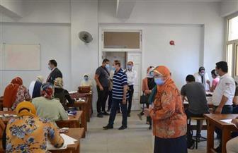 لجنة من المجلس الأعلى للجامعات تتفقد اختبارات القدرات بجامعة الإسكندرية | صور