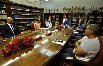 محمود الخطيب يجتمع مع التشيكي ميشال بروكيتش