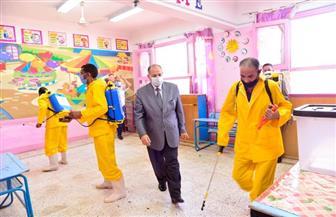 محافظ أسيوط يترأس حملة مكبرة لتطهير لجان انتخابات الشيوخ | صور