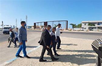 محافظ مطروح يتفقد استعداد لجان انتخابات مجلس الشيوخ بالعلمين  صور