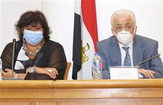 وزيرة الثقافة: بنك المعرفة يمنح المصريين حق الوصول إلى أكبر قاعدة للاطلاع في العالم